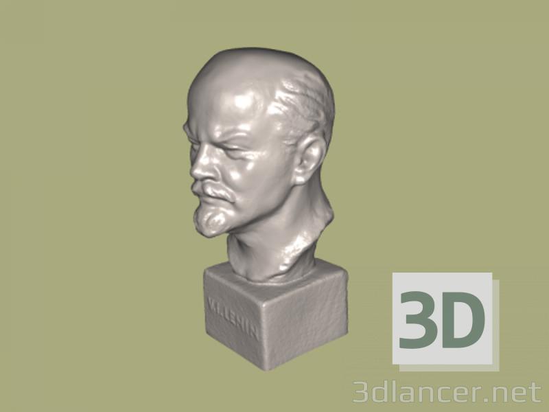 3d model Bust V.I. Lenin - preview