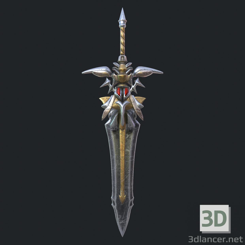 3d Fantasy sword 19 3d model model buy - render