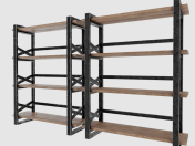 LOFT style shelving