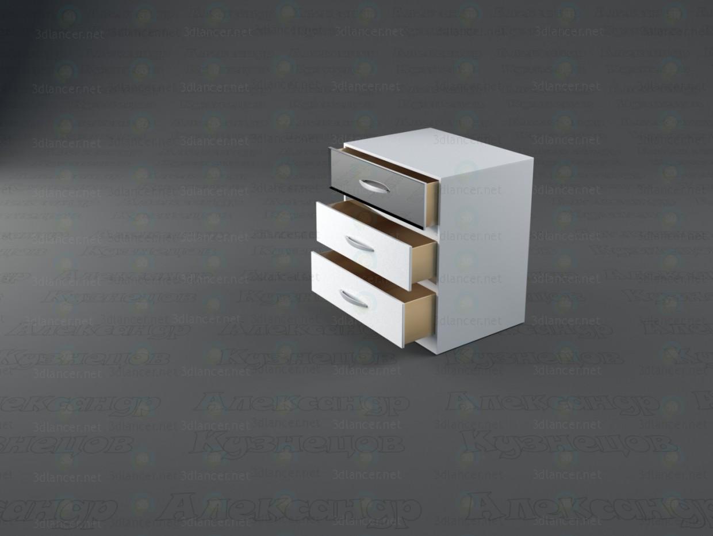 modelo 3D Dormitorio de la reina de las Nieves - escuchar