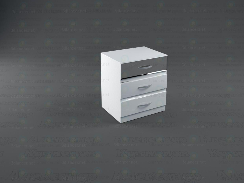 3d model Snow Queen Bedroom - preview