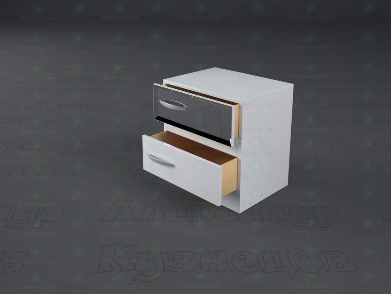 3d модель Спальня Снігова Королева – превью