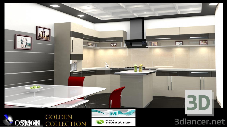 3D Altın Koleksiyon 6 modeli satın - render