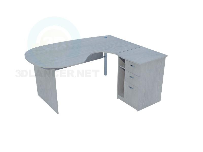 3d model Office desk - preview