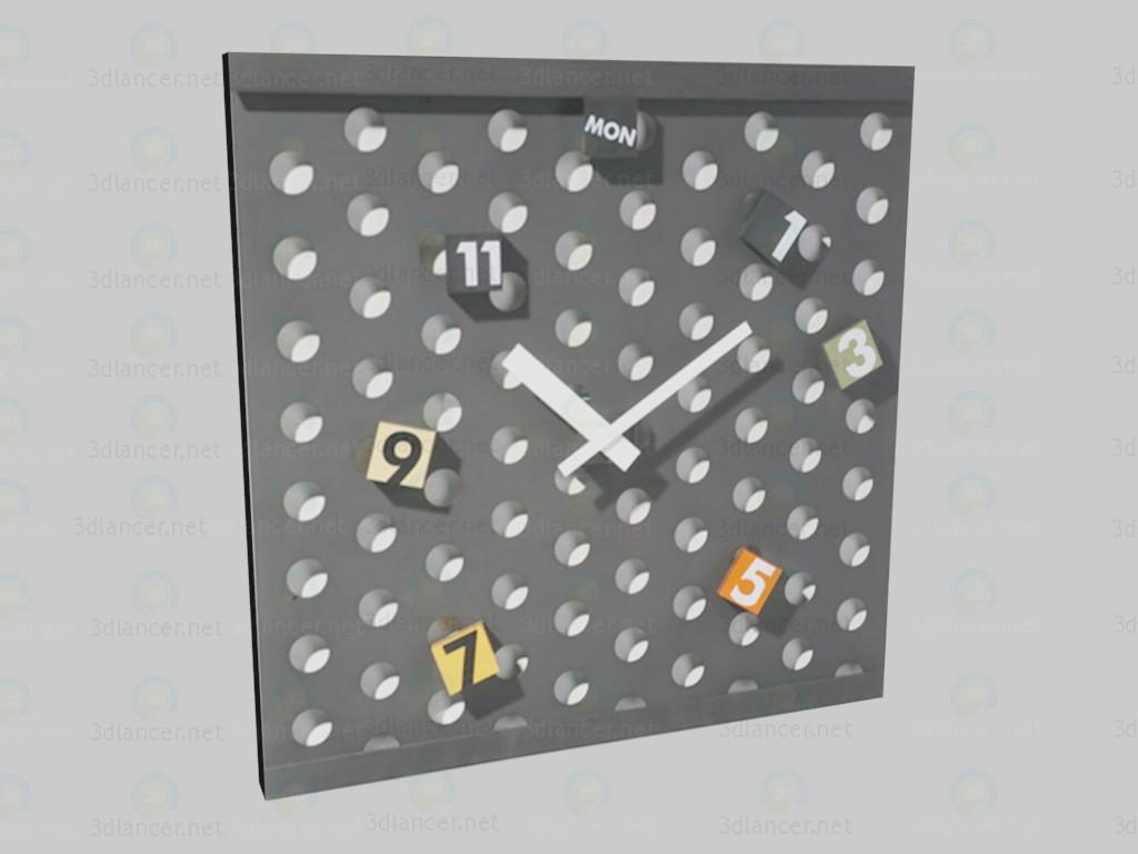 3d моделирование Часы Pop модель скачать бесплатно