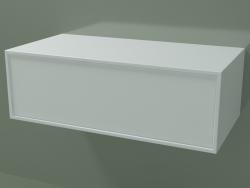 Caja (8AUCAA01, Glacier White C01, HPL P01, L 72, P 36, H 24 cm)