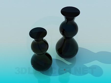 3d model Vase included - preview