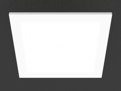Built-in LED panel (DL18454_3000-White SQ)