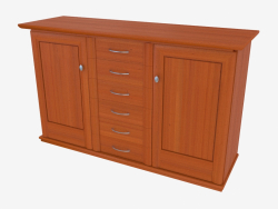 Three-section buffet (9712-43)