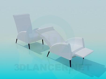 3d modeling Folding armchair model free download