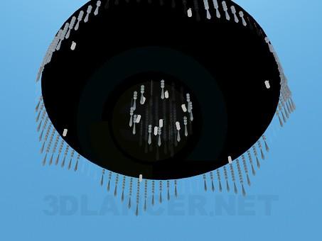 modelo 3D Lámpara en el techo - escuchar