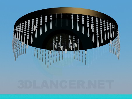 3d model Chandelier on the ceiling - preview