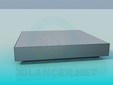 3d model Very low table - preview