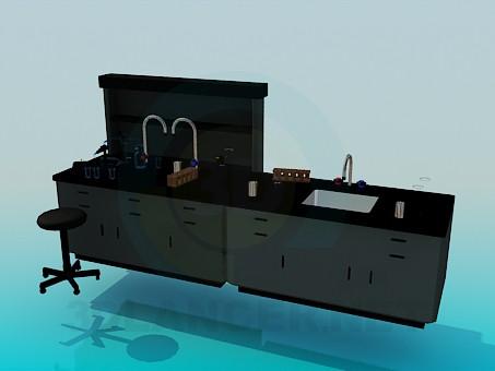 3d модель Кухонна мийка – превью