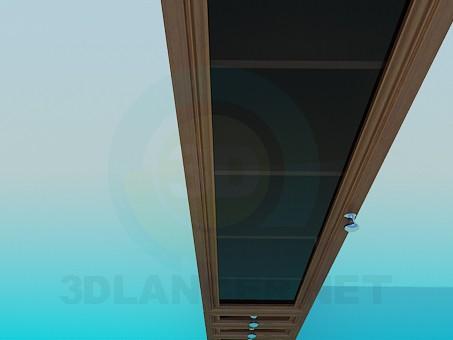 3d модель Пенал – превью