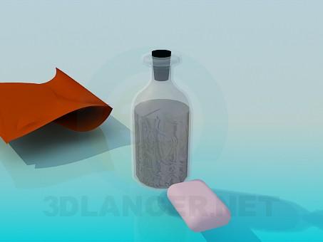 3d model Bath accessories - preview