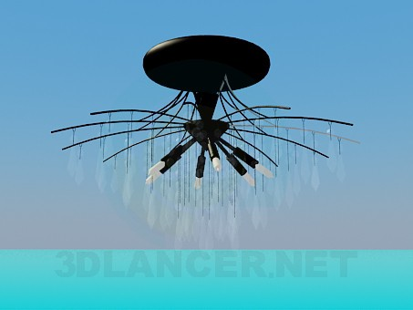 3d modeling A large chandelier model free download