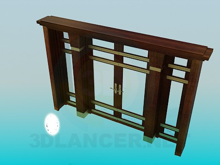 3d model Entrance doors - preview