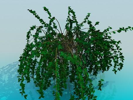 modelo 3D planta de la casa - escuchar