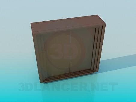 3D Modell Bodenständer - Vorschau