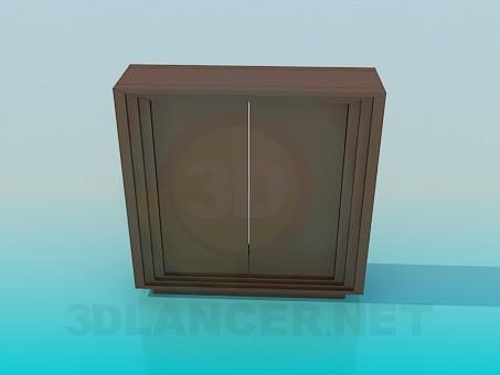 3d модель Тумба-підставка – превью