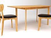 Table, chairs HYGENA