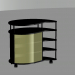 3d model Bedside table for TV - preview