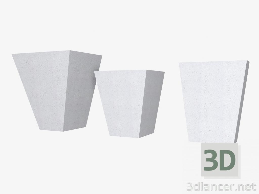3d model Castle stones (FZ20M, FZ27M, FZ22BZ) - preview