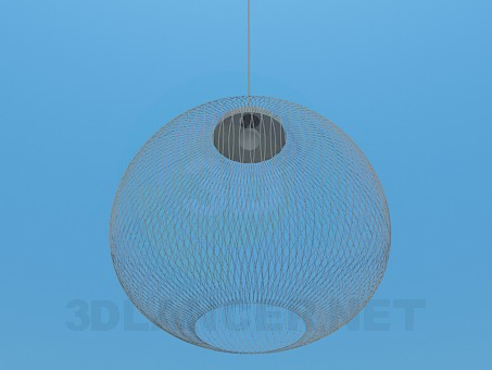 3d model Luminaire with mesh lampshade - preview