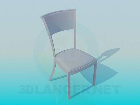 3d modeling Easy chair model free download