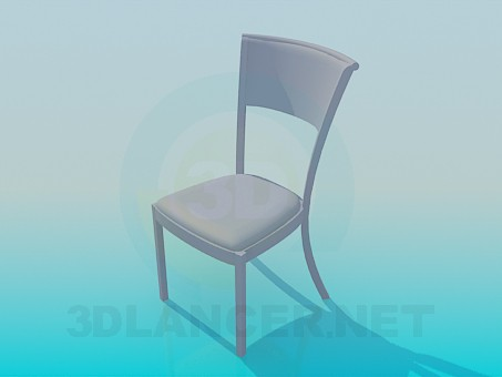modelo 3D Easy chair - escuchar