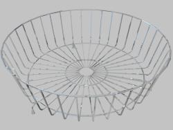 Panier pour évier de cuisine avec bol rond (ZZE 080K)