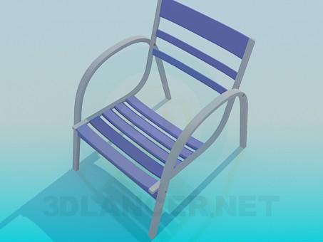 Scarica di Sedia per il resto modello gratuito di modellazione 3D
