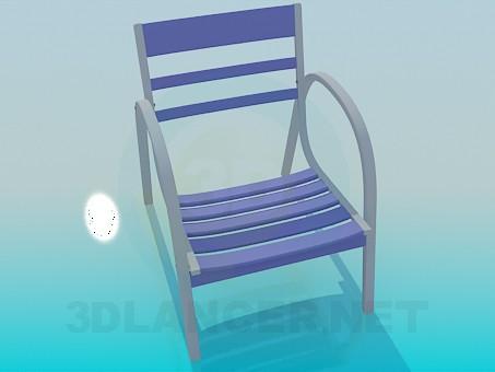 modelo 3D Silla para el resto - escuchar