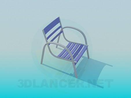 3d модель Стілець для відпочинку – превью