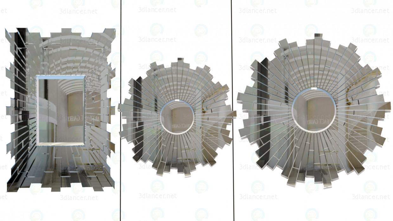 3d моделювання 3 Дзеркала модель завантажити безкоштовно
