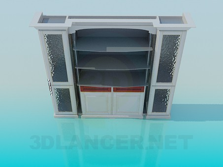 3d modeling Shelving model free download