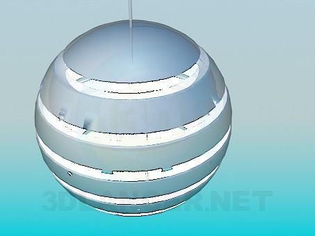 3d модель Люстра - Шар – превью