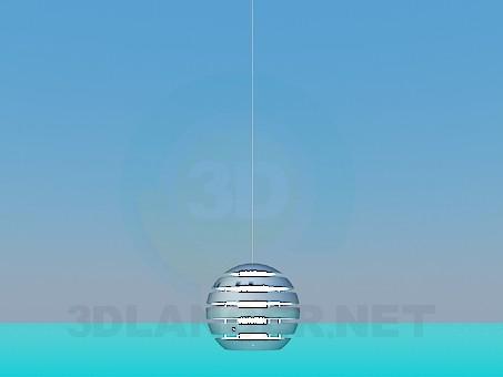 modelo 3D Lámpara bola - escuchar