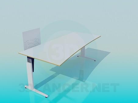 3d модель Стіл під комп'ютер – превью