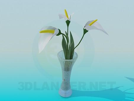 descarga gratuita de 3D modelado modelo Flor