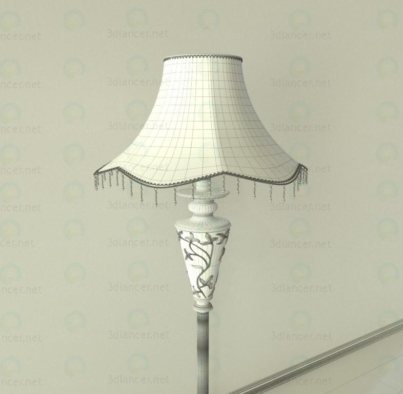 Lámpara de pie 3D modelo Compro - render