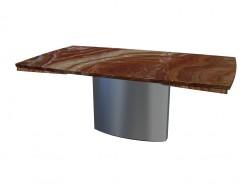 Стол обеденный 1222 Adler I (сложенный, 105x180x74) 1