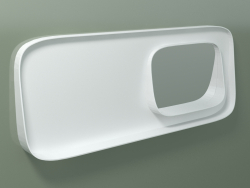 Specchio con mensola (dx, L 120, H 48 cm)