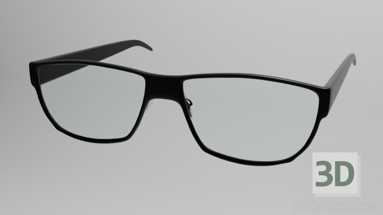 3d Glasses model buy - render