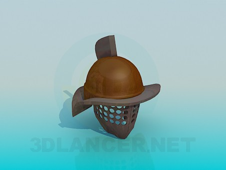 3d model Warrior's helmet - preview