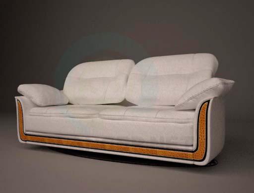 3d model sofá clásico - vista previa