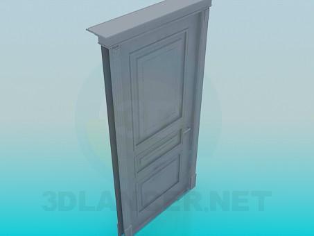 3d model Door High Poly - preview
