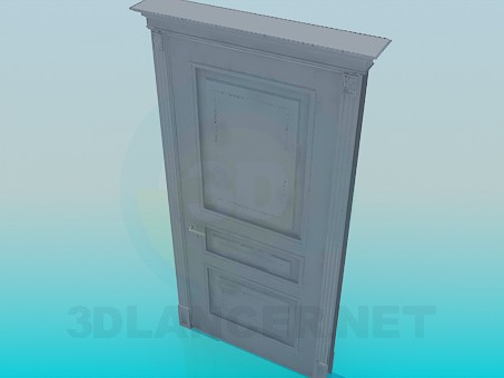 3d model Door High Poly - preview