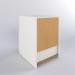 3d модель Тумба приліжкова, білий БРІМНЕС – превью